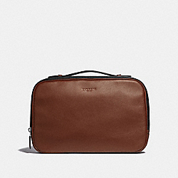 MULTIFUNCTION POUCH - SADDLE - COACH F39806