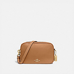 JES CROSSBODY - IM/LIGHT SADDLE - COACH F39856