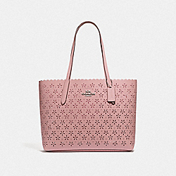 AVENUE TOTE - PETAL/STRAWBERRY/SILVER - COACH F39894