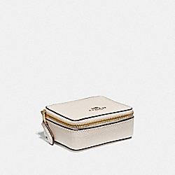 TRIPLE PILL BOX - CHALK/LIGHT GOLD - COACH F41289