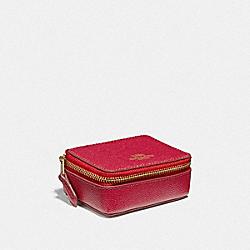 TRIPLE PILL BOX - TRUE RED/LIGHT GOLD - COACH F41289