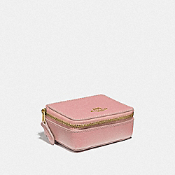 TRIPLE PILL BOX - IM/PINK PETAL - COACH F41289