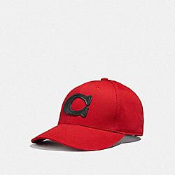 VARSITY C CAP - RED - COACH F43038