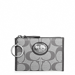 COACH SUTTON SIGNATURE MINI SKINNY - ONE COLOR - F43967