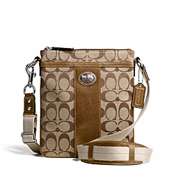 COACH SUTTON SIGNATURE SWINGPACK - ONE COLOR - F43976
