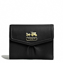 MADISON LEATHER MEDIUM WALLET - f44567 - 31860