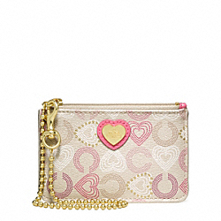 COACH WAVERLY HEARTS ID SKINNY - ONE COLOR - F44804