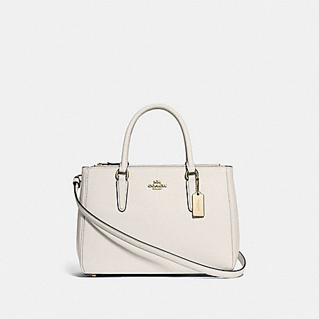 COACH SURREY CARRYALL - CHALK/IMITATION GOLD - F44958