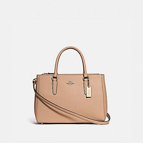 COACH SURREY CARRYALL - BEECHWOOD/IMITATION GOLD - F44958