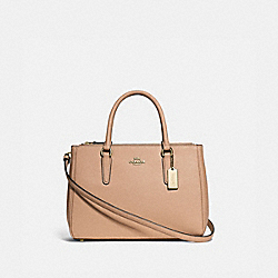 SURREY CARRYALL - BEECHWOOD/IMITATION GOLD - COACH F44958