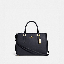 SURREY CARRYALL - MIDNIGHT/GOLD - COACH F44958