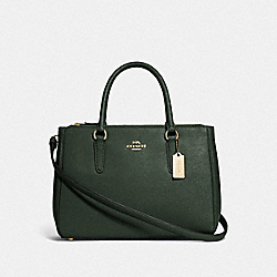 SURREY CARRYALL - IVY/IMITATION GOLD - COACH F44958