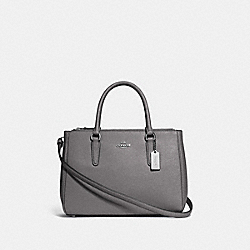 SURREY CARRYALL - HEATHER GREY/SILVER - COACH F44958