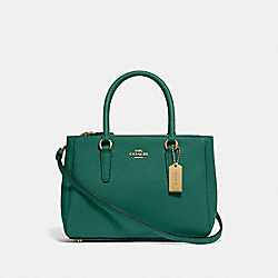 MINI SURREY CARRYALL - JADE - COACH F44962