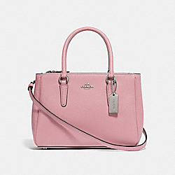 MINI SURREY CARRYALL - PETAL/SILVER - COACH F44962