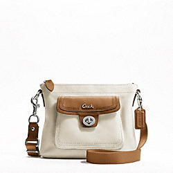 LEATHER POCKET SWINGPACK