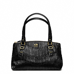 MADISON GATHERED LEATHER SMALL BAG - f45928 - 17773