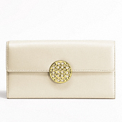 ALEXANDRA LEATHER SLIM ENVELOPE