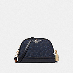 IVIE CROSSBODY IN SIGNATURE DENIM - DENIM/LIGHT GOLD - COACH F46288