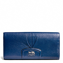 COACH MADISON LEATHER SLIM ENVELOPE - ONE COLOR - F46611