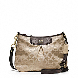 COACH MADISON OP ART SATEEN FASHION SWINGPACK - ONE COLOR - F46642