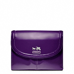 COACH MADISON PATENT MEDIUM WALLET - ONE COLOR - F46729