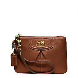 COACH MADISON LEATHER SMALL WRISTLET - ONE COLOR - F46730