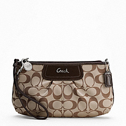 SIGNATURE SATEEN LARGE WRISTLET