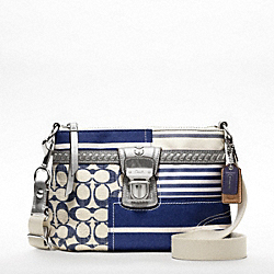 COACH POPPY PATCHWORK SWINGPACK - ONE COLOR - F47586