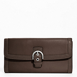 SOHO LEATHER BUCKLE SLIM ENVELOPE