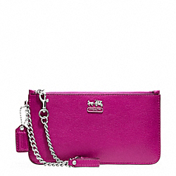 COACH MADISON LEATHER CHAIN WRISTLET - ONE COLOR - F47930