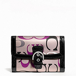 SOHO OPTIC PRINT COMPACT CLUTCH