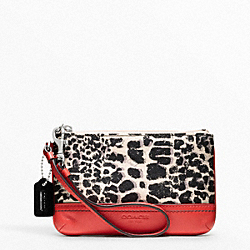COACH OCELOT PRINT SMALL WRISTLET - ONE COLOR - F47999