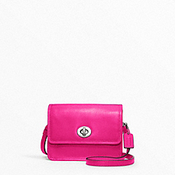 COACH LEATHER MINI MINI CROSSBODY - ONE COLOR - F48005