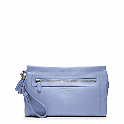 COACH LEATHER LARGE CLUTCH - ONE COLOR - F48021
