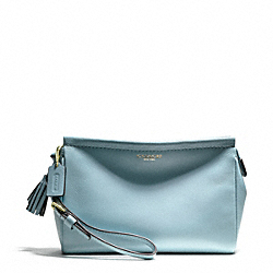 COACH LEATHER LARGE WRISTLET - ONE COLOR - F48025