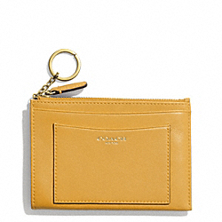COACH LEATHER MEDIUM SKINNY - ONE COLOR - F48030