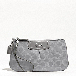 ASHLEY DOTTED OP ART LARGE WRISTLET