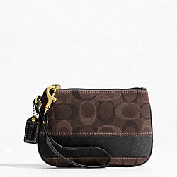 SIGNATURE STRIPE 3 COLOR SIGNATURE SMALL WRISTLET