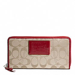 DAISY SIGNATURE SATEEN ZIP AROUND