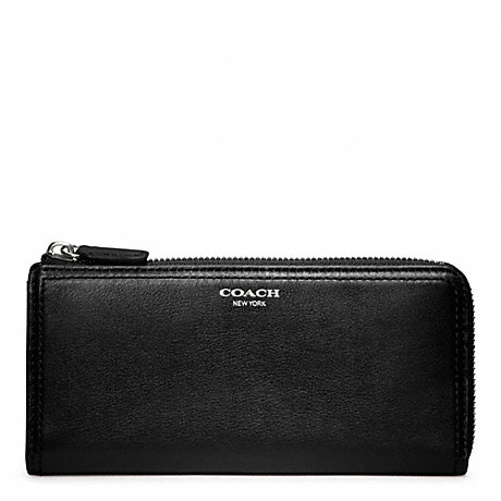 COACH SLIM ZIP IN LEATHER -  - f48178