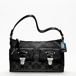 COACH POPPY SIGNATURE SATEEN DEMI - ONE COLOR - F48203
