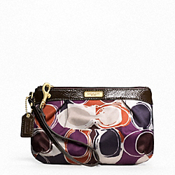 ASHLEY HAND DRAWN SCARF PRINT MEDIUM WRISTLET