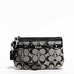 COACH GALLERY SIGNATURE MEDIUM WRISTLET - ONE COLOR - F48299