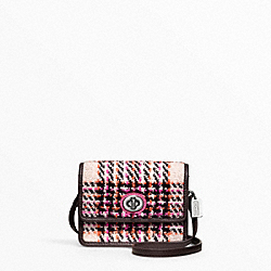 COACH COLORBLOCK PLAID MINI MINI CROSSBODY - ONE COLOR - F48416