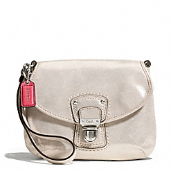 POPPY LEATHER LARGE WRISTLET COACH F48427