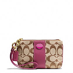 COACH SIGNATURE SMALL WRISTLET - ONE COLOR - F48435