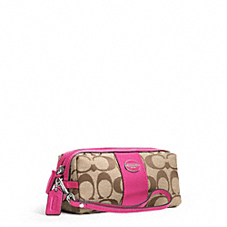 COACH SIGNATURE COSMETIC CASE - ONE COLOR - F48444