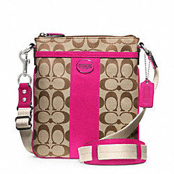 COACH SIGNATURE SWINGPACK - ONE COLOR - F48452