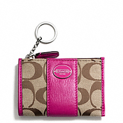 COACH SIGNATURE MINI SKINNY - ONE COLOR - F48454